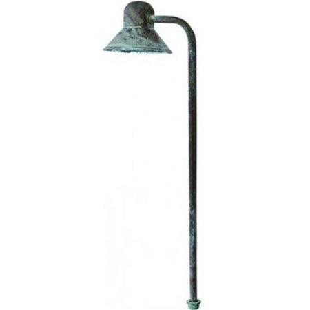 Dabmar Lighting LV217-AG 20 watt JC Solid Brass Bell Path Light - 12V Bell Head Path Light