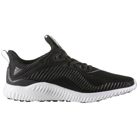 adidas Women's Alphabounce Running Shoes (Black/White, 11)