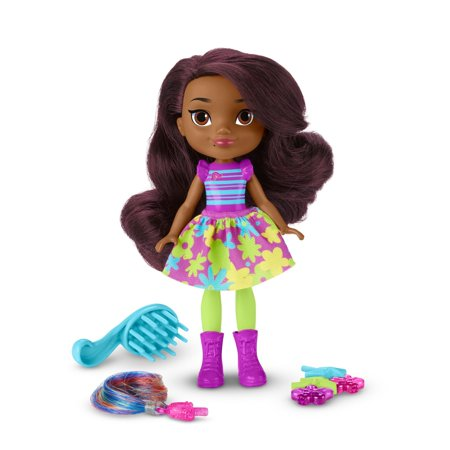 Nickelodeon Sunny Day Pop-in Style Hair Charm Rox Doll
