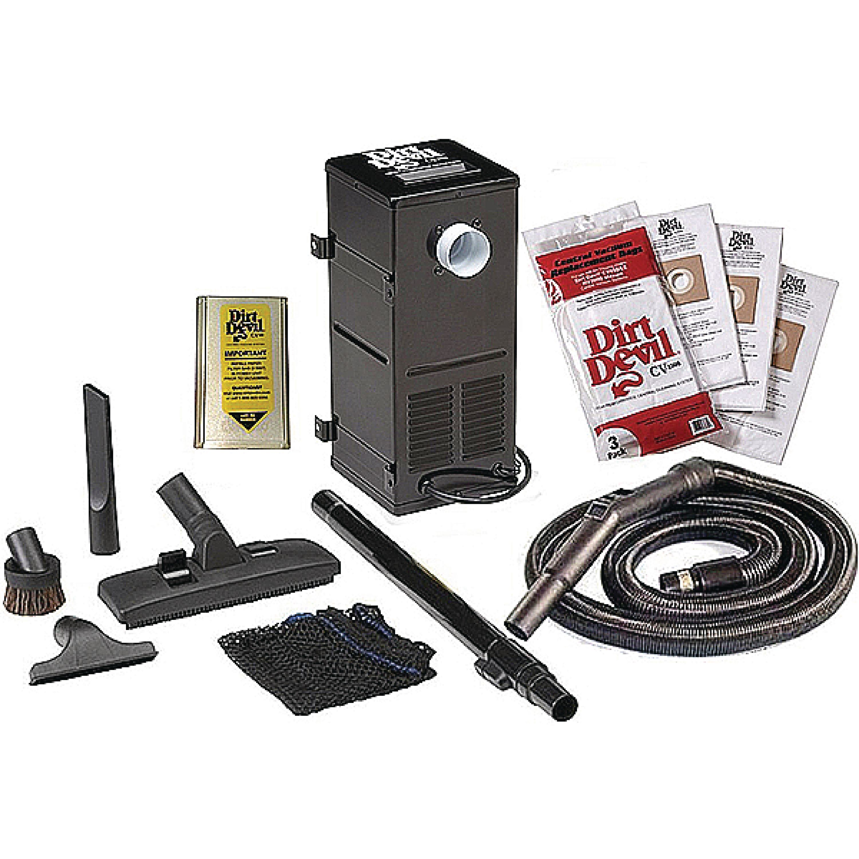Dirt Devil 9880 All-In-One Central RV Vacuum System