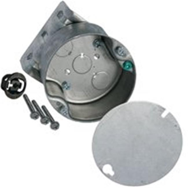RACO 294 Electrical Box,Round Ceiling Pan,8 Side