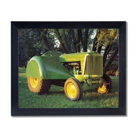 Vintage John Deere Farm Tractor Model 60 Wall Picture Black Framed ...