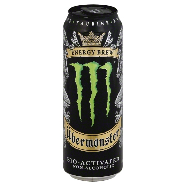 Monster Ubermonster Energy Brew, 18.6 oz