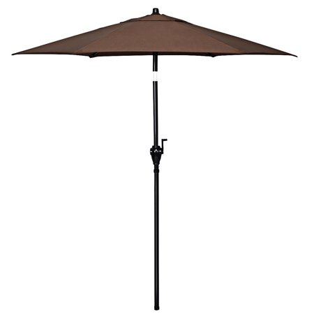 Gymax 6ft Outdoor Patio Backyard Garden Umbrella with Steady Iron Pipe Ribs - image 5 of 8