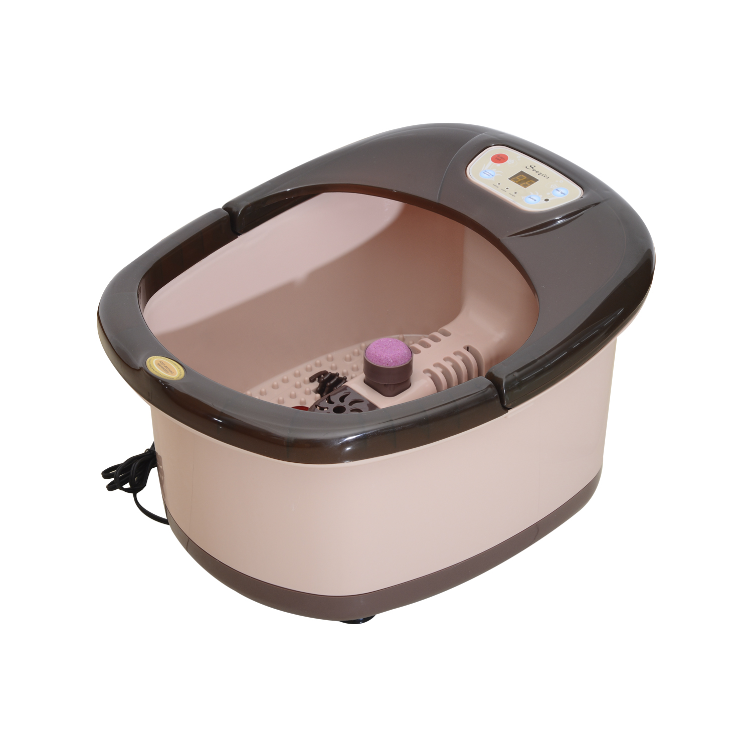 Soozier Foot Bath Spa - Beige and Brown
