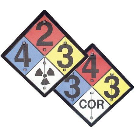 Accuform Signs Nfpa Sign   Aluminum   15 1 2  X 15 1 2    1 Ea Zpf125