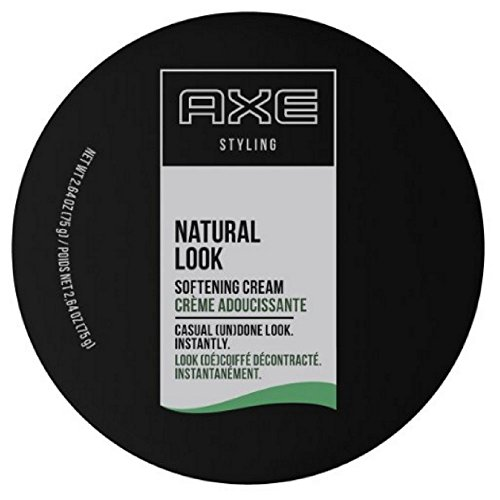 AXE Natural Look Hair Cream, Softening, 2.64 oz (Pack of 4)