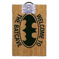 """Batman - DC Comics Doormat / Floor Mat (Bat Logo - Welcome To The Batcave)(Size: 24"""" x 16"""")"""