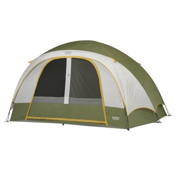 Wenzel 11' x 9' Evergreen 6-Person Family Dome Camping Tent