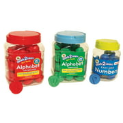 Ready2Learn™ KIT-UC/LC Eng/Span Dough & Paint Alphabets & Numbers