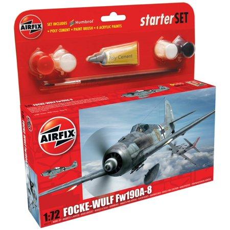 A55110 Focke Wulf Fw190A-8 Model Kit,1:72 Scale, 1:72 scale plastic scale model kit By Airfix (Airfix Models)