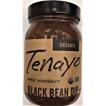 Tenayo Organic Black Bean Dip Chipotle Black Bean Dip