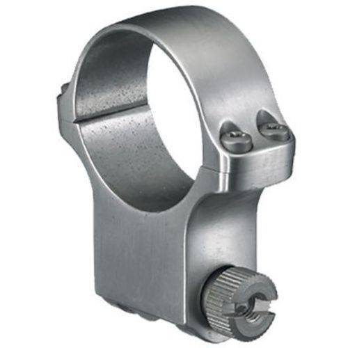 Ruger 90287 Clam Pack Single Ring, Extra High, 30mm Diameter, Stainless