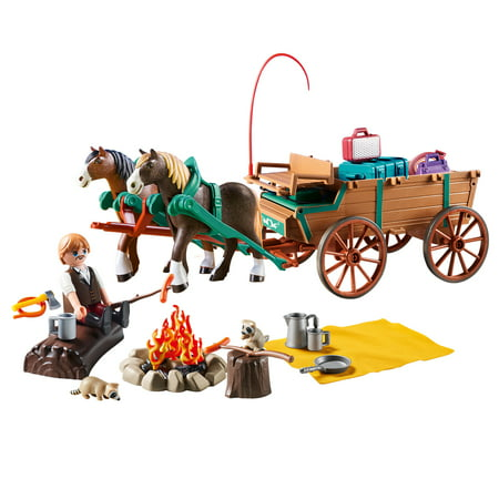 PLAYMOBIL Spirit Riding Free Lucky's Dad and Wagon