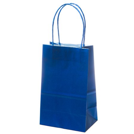 Small Blue Kraft Gift Bags