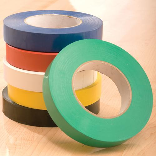"Floor Marking Tape-Color:Green,Size:1W"" X 60L yd."