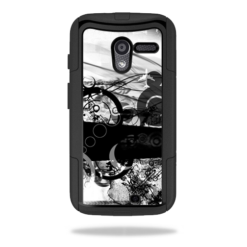 Mightyskins Protective Skin Decal Cover for OtterBox Commuter Motorola Moto X Case wrap sticker skins Confusion