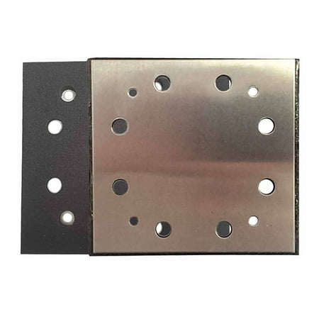 SPD16 1/4 Sheet PSA 8 Holes Sanding Pad Replaces Porter Cable OE # 135292 / 893667, Fits Porter Cable 340 Series Sanders By Superior Pads and (Hotel Cable)