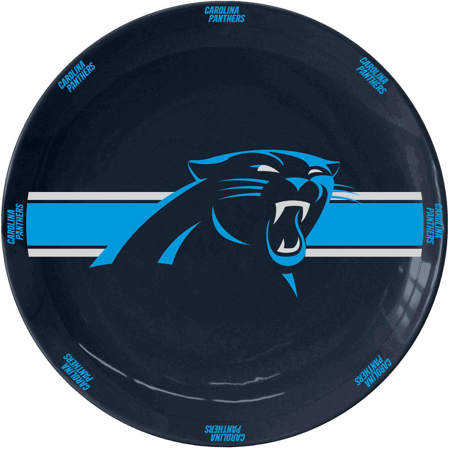 NFL Carolina Panthers Ceramic Serving Plate