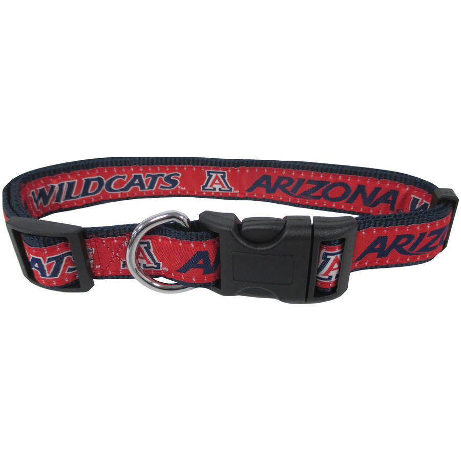 Pets First College Arizona Wildcats Pet Collar, 3 Sizes Available, Sports Fan Dog Collar