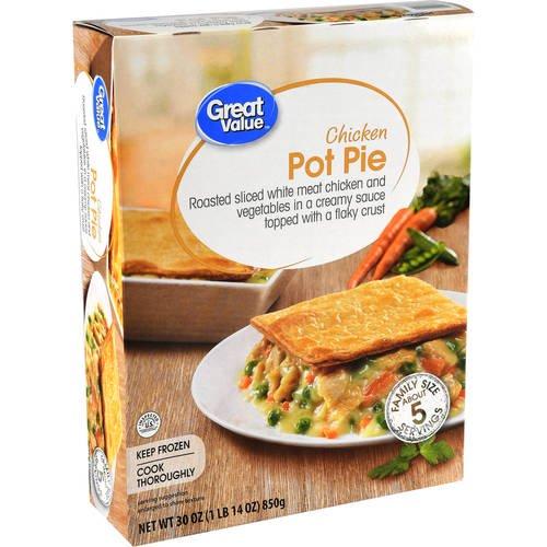 Great Value Chicken Pot Pie 30 Oz Walmart