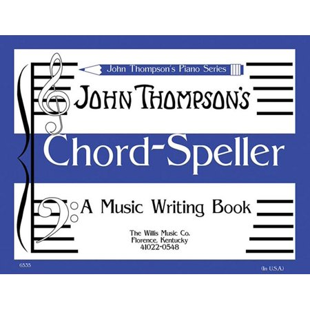 Chord Speller: A Music Writing Book/Later Elementary Level - Halloween Writing Activity Elementary