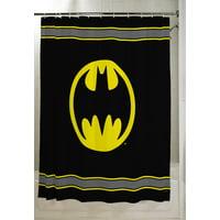 "Batman Kids Bathroom Decorative Fabric Shower Curtain, 72"" x 72"
