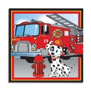 Firefighter Luncheon Napkins (16 Count)