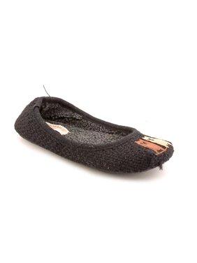 bd7bb5afafd1 Product Image American Rag Animal Women Round Toe Canvas Black Slipper