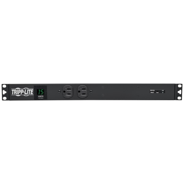 Tripp Lite(R) PDUMH15-ISO 1U Rack-Mount 1.44kW Single-Phase 15-Amp Metered PDU with Isobar Surge Suppression - image 1 de 1