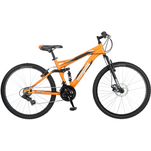 26 Mongoose Ledge 2 2 Mens Mountain Bike Orange