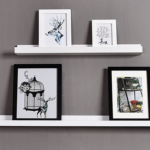 Welland LLC Vista Photo Ledge Picture Display Wall Shelf