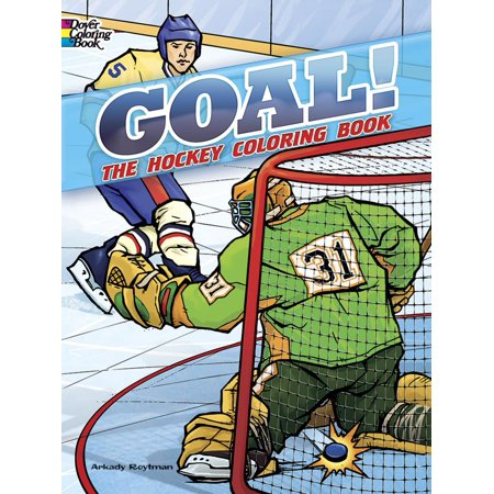 goal the hockey coloring book walmart com