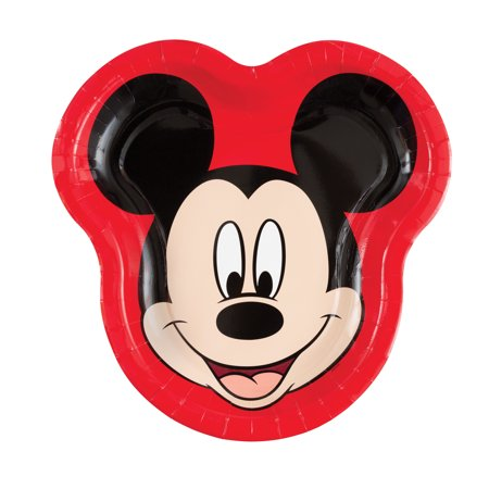 Mickey Mouse Paper Dinner Plates, 10.25 x 10in, 24ct](Mickey Mouse Plate Set)