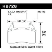 Hawk 2014 Chevrolet Corvette Street Race Front Brake Pads