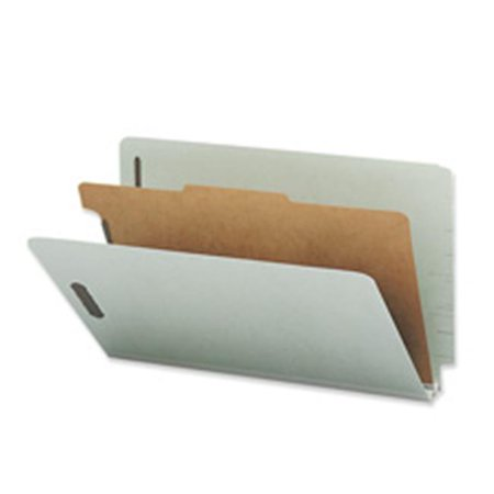 Classification Folder- w-Fasteners- 1 Divider- Lgl- Gray - image 1 of 1