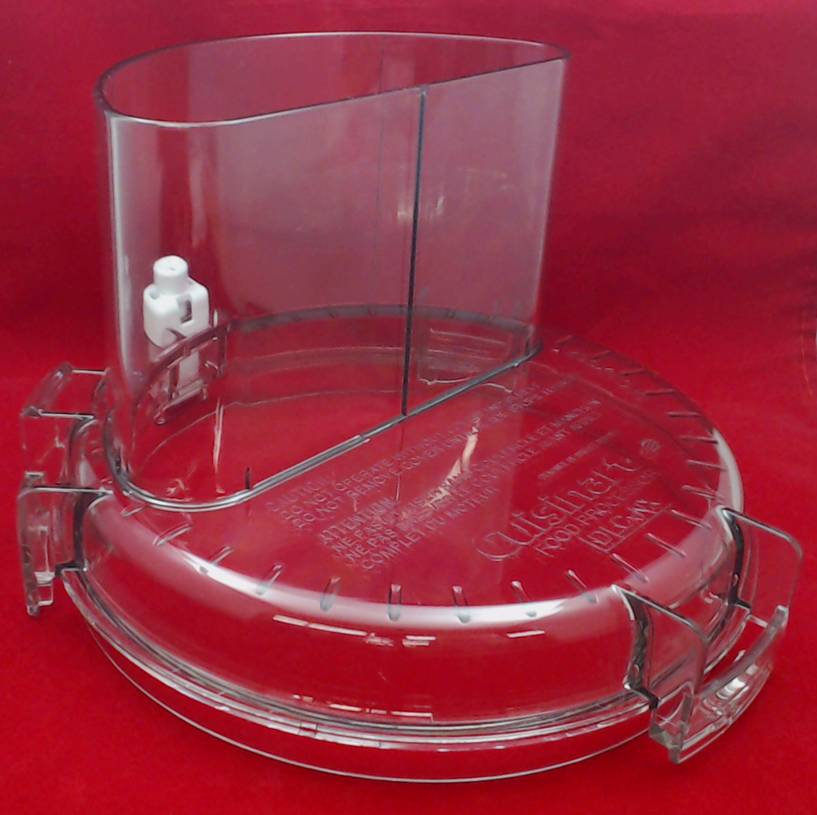 Cuisinart Food Processor Workbowl Cover with Large Feed Tube, DLC-317BTX-1GN