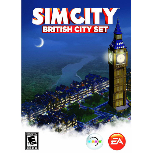 SimCity London City Expansion Pack (PC) (Digital Code)