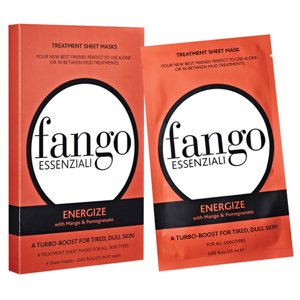 Borghese Fango Essenziali 4 Pack Sheet Mask Set, Energize