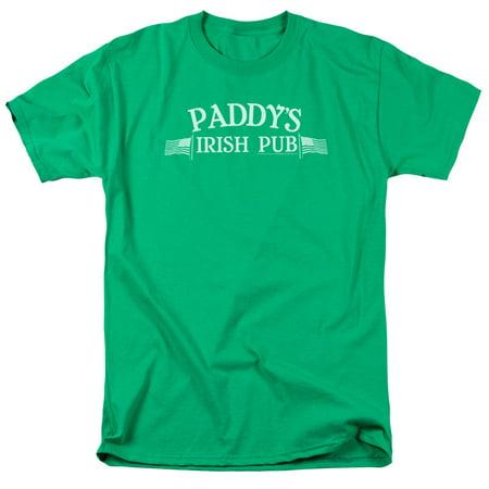 Its Always Sunny In Philadelphia Paddys Logo Mens Short Sleeve Shirt](Philadelphia Asylum Halloween)