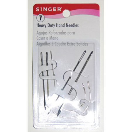 Extra Heavy Duty Double Needle (Singer Heavy Duty Assorted Hand Needles, 7-Count )