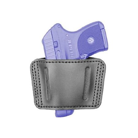 380 Leather Belt Slide Holster - BLACKHAWK! Sportster Leather Belt Slide Holster - Ambidextrous