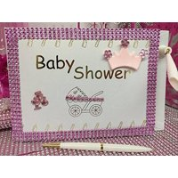 Baby Shower Girl Princess Guest Book Party Favor Decoration