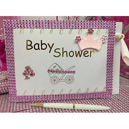 Baby Shower Girl Princess Guest Book Party Favor Decoration - Prince And Princess Party