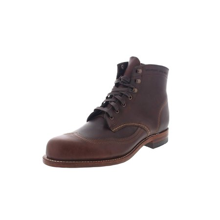 271d7881b34 Wolverine W05342: 1000 Mile Men's Brown Addison Wingtip Boots (9.5 D(M) US  Men)