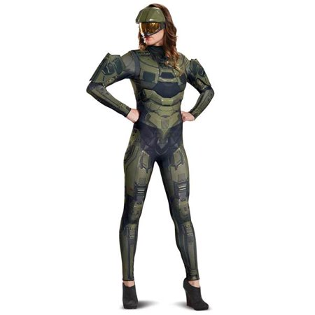 Halo Master Chief Women's Deluxe Adult Halloween Costume