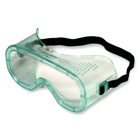 North Eye & Face Protection A600 Series Goggles, Clear, Wrap-Around (The North Face Carry On)