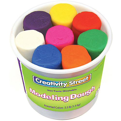 Creativity Street Modeling Dough Bucket, Assortment