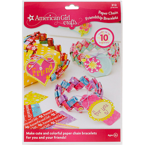 American Girl Friendship Bracelet Kit, Paper Chain