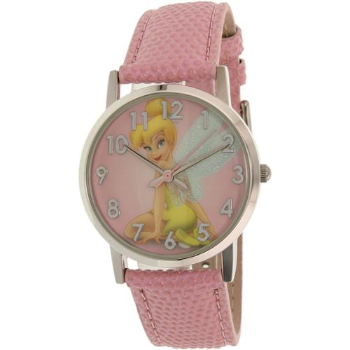 Disney Girl's Tinkerbell TNK485L Pink Plastic Quartz Watch